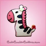 Pink Zoe Zebra Cookie Cutter | Cheap Cookie Cutters is the Cookie Cutter Leader