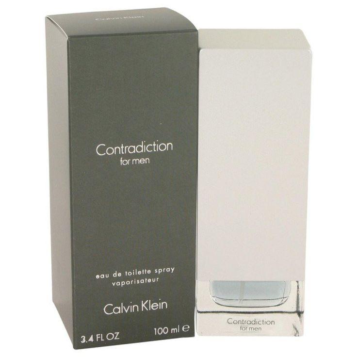 Contradiction By Calvin Klein Eau De Toilette Spray 3.4 Oz