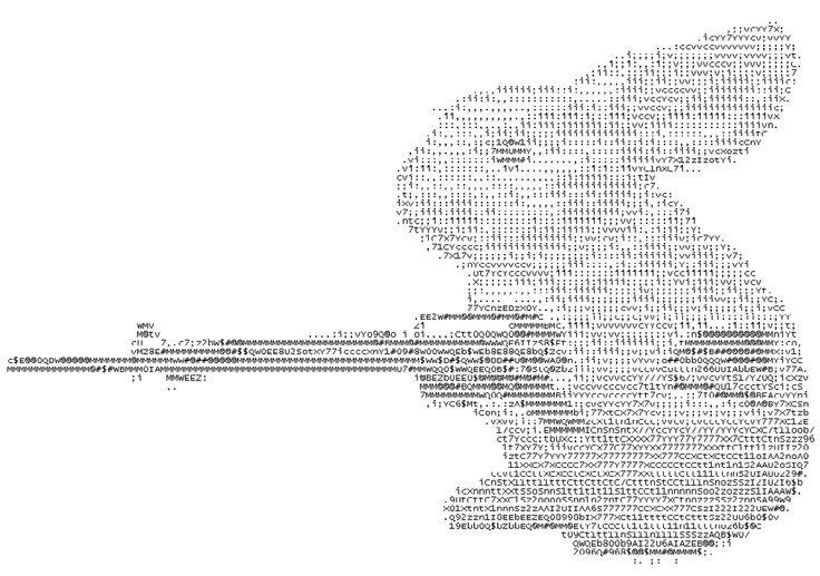 One Line Ascii Art Dirty : Back off ascii art pinterest