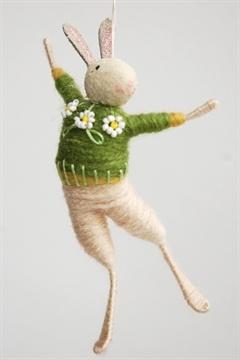 Halinka's Fairies Rabbit Ornament