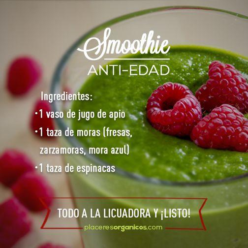 #Smoothie #Antiedad #Salud #Nutrición
