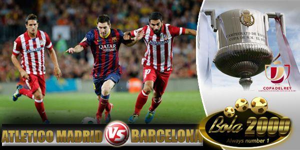 Prediksi Skor Bola Atletico Madrid vs Barcelona 29 Jan 2015