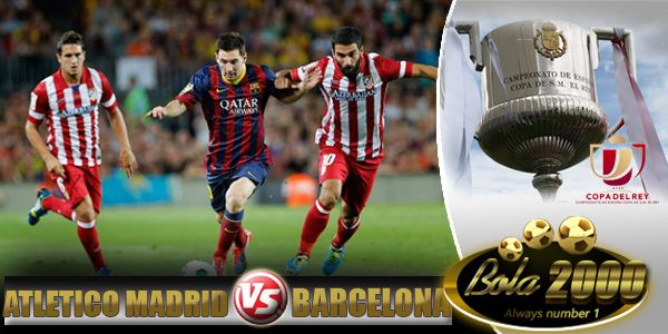 Prediksi Skor Bola Atletico Madrid vs Barcelona 29 Jan 2015