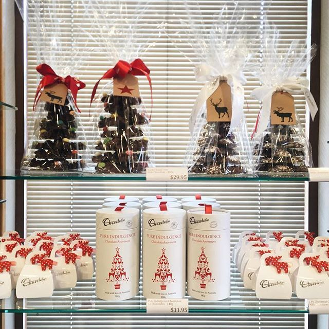 Christmas Display <3 #chocolate #christmas #gift