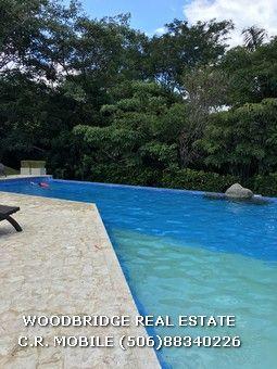 Comprando casa en Costa Rica? Casa lujo en Santa Ana alquiler o venta $690.000 /400 mts. en linda comunidad con piscina y cancha de tennis. Woodbridge bienes raices Costa Rica (506)88340226