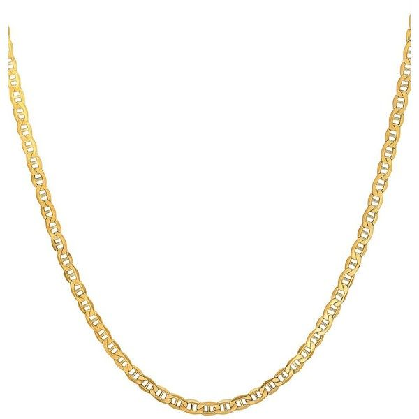 Lord & Taylor Men's 14K Yellow Gold Chain Necklace (3,405 CAD) ❤ liked on Polyvore featuring men's fashion, men's jewelry, men's necklaces, yellow gold, mens chains, mens 14k gold chain necklace, mens chain necklace, mens gold chains and mens watches jewelry