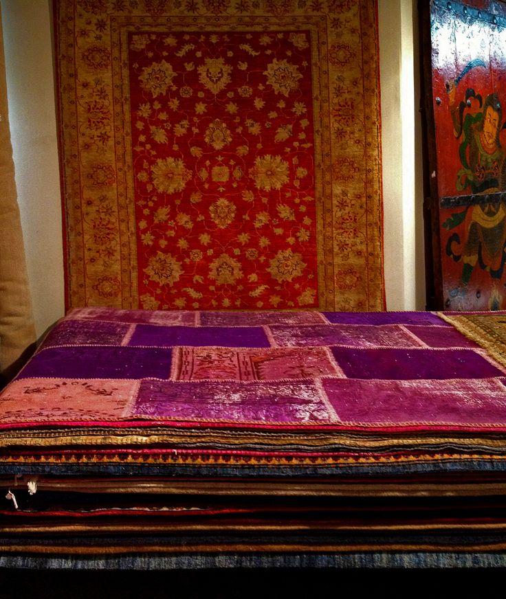 Topstukken voor bij jou thuis: #Oosterse & #Perzische #patchwork #tapijten