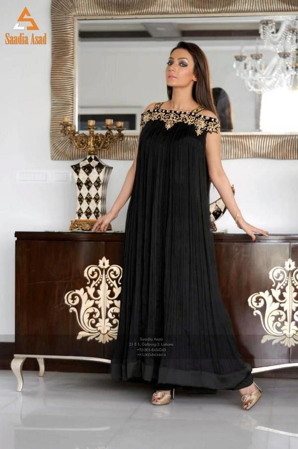 Latest Winter Wedding & Party Wear Dress Collection 2013-14 By Saadia Asad (4)