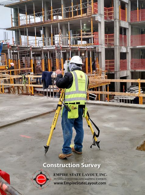 Learn About Construction Surveys from Empire State Layout NYC Construction Surveyors: https://www.empirestatelayout.com/construction-surveys-NY