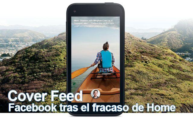 Facebook intenta superar el fracaso de Home con Cover Feed,  más funcional y muchísimo menos invasiva de lo que fue Facebook Home. Aquí te comentamos de qué se trata todo esto:  http://blog.mp3.es/facebook-ahora-incluye-cover-feed-sin-necesidad-de-home/?utm_source=pinterest_medium=socialmedia_campaign=socialmedia  #facebook #home #android