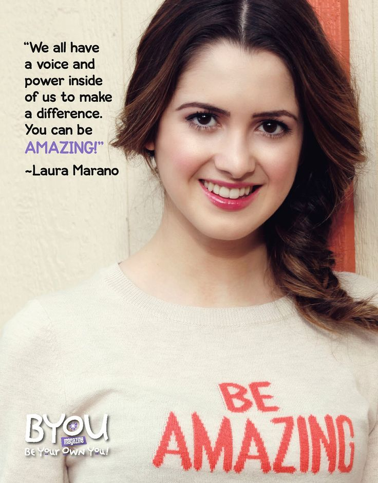 #FlashbackFriday to #LauraMarano in #BYOUmagazine's #DoGooder issue! Learn why it's important to be a do-gooder at: BYOUmagazine.com/do-gooder/