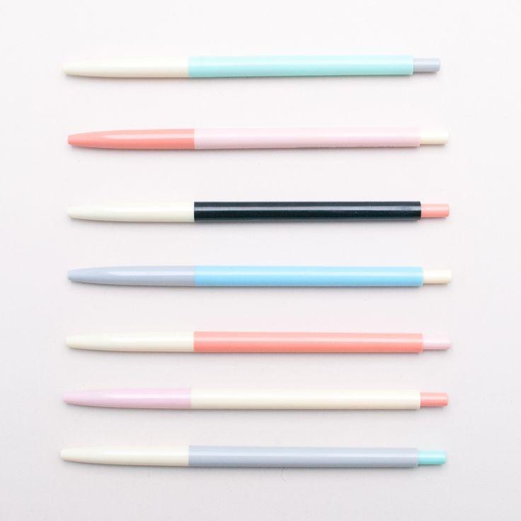 Colour block pens - Hopscotch #colourpallete