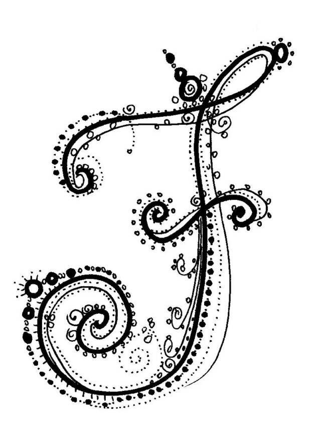Fancy Alphabet | Calligraphy Alphabet s | Pinterest