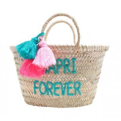 Panier Rose in April CAPRI FOREVER