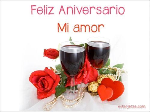 Feliz Aniversario Mi Amor: 8 Best Aniversario Y Amor Images On Pinterest