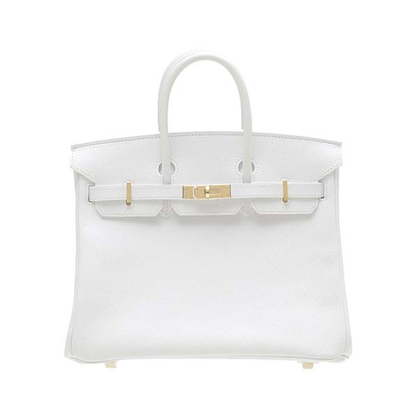 If you've been hankering after a luxury Hermes Birkin 25 for some time, Whether you are looking for a bag to bring to work and liven up a suit, a special bag to compliment an evening outfit, an everyday bag to go with your jeans or just a pretty scarf you can use as a fun accent piece; there is a Best Epsom leather Hermes Birkin bag 25cm Gold hardware White H2031 made for each purpose.More view http://www.birkinbagbest.com/