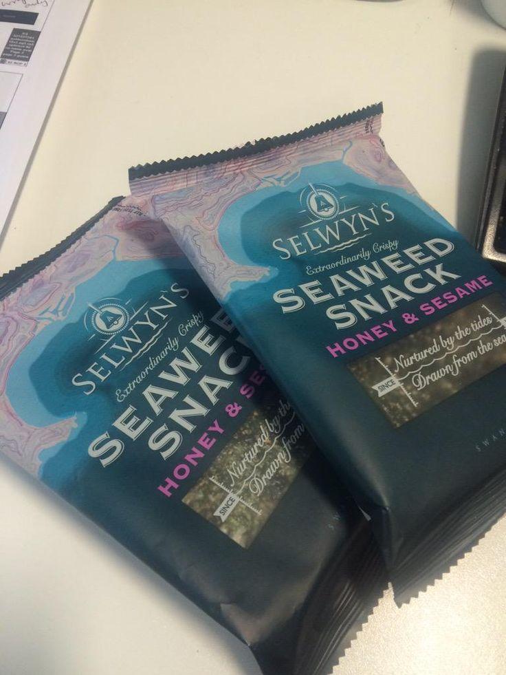 Office treats from @SelwynsSeaweed helping me get that #FridayFeeling #OmNomNom