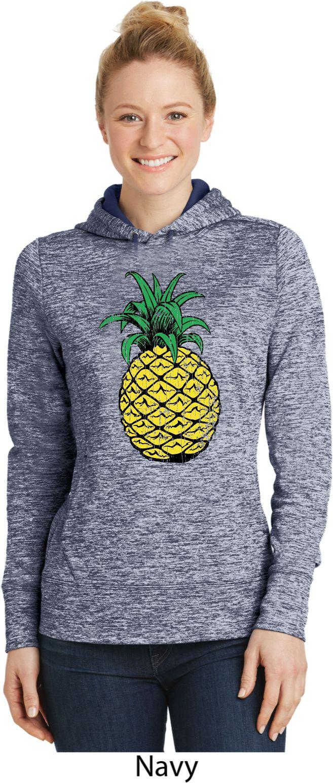 Distressed Pineapple Ladies Moisture Wicking Hoodie Womens Shirts Hoodie Etsy Hoodies [ 1544 x 657 Pixel ]