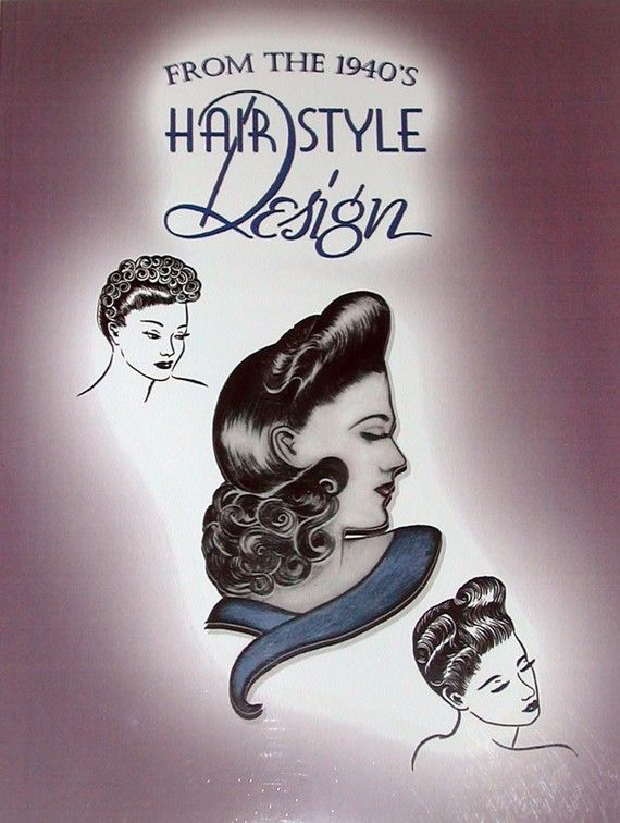 1940s Glamorous Hairstyles Styling Book WWII by RumbleSeatCat, $14.95