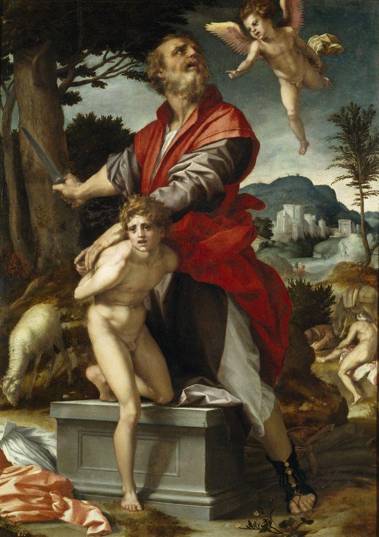 Andrea del Sarto - Il sacrificio di Isacco