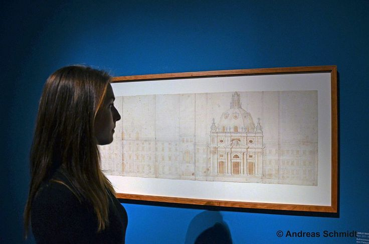"""You can also find sketches of St Peter's Basilica being located in Rome. Leipzig Museum of Fine Arts – """"Bernini. Inventor of the baroque Rome"""" 9/11/2014–1/2/2015  © Andreas Schmidt"""