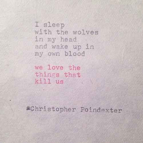 The Blooming of Madness ~ Christopher Poindexter.