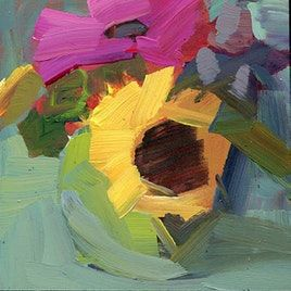 Original artwork from artist Lisa Daria Kennedy on the Daily Painters Gallery