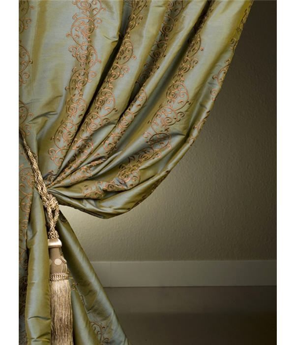 Classic Borrache Silk Curtains Amp Drapes At Affordable