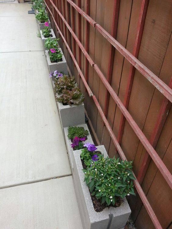 17 mejores ideas sobre bloques para patios en pinterest for Bloques de cemento para jardin