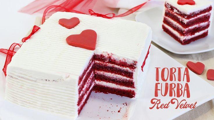 TORTA FURBA RED VELVET ricetta facile - Red Velvet Cake  Speciale per Sa...