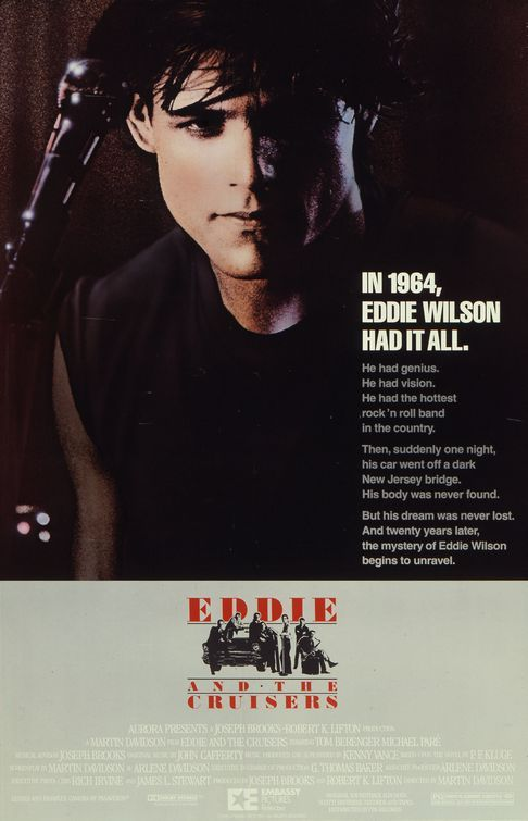 Eddie and the Cruisers Movie Poster - Internet Movie Poster Awards Gallery