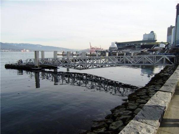 Bridge & water - Vancouver, BC - photograph taken by Rosalia Marie