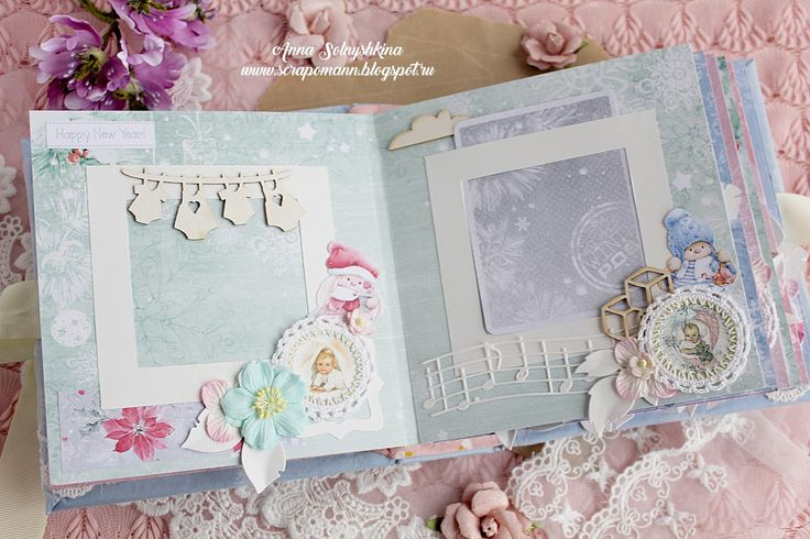 ScrapBerry's: a wintery album with Xmas Berries, perfect for begginers' by Anna Solnyshkina