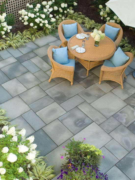 Bluestone Patio Design Ideas