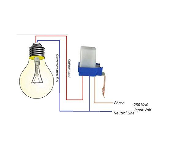 Blackt Electrotech Bt31p2 230volt Auto Day Night On And Off Photocell Ldr Sensor Water Proof Olive Wood Lighting Switch White Wood Light Ldr Sensor Olive Wood