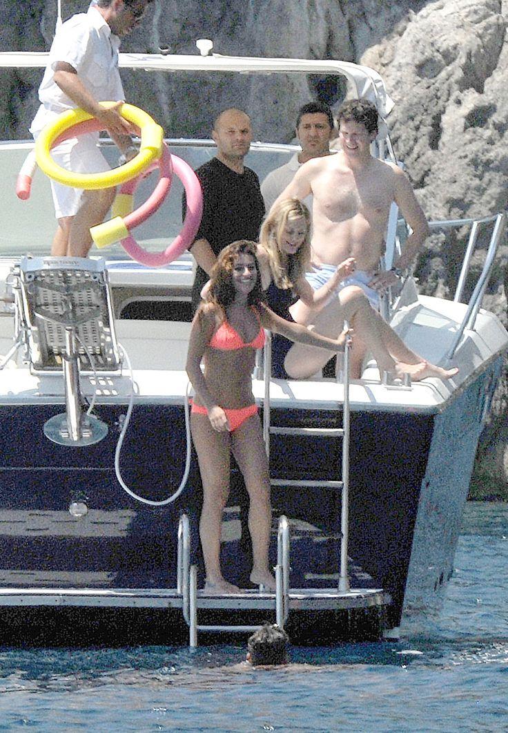 Lea Michele in Italy
