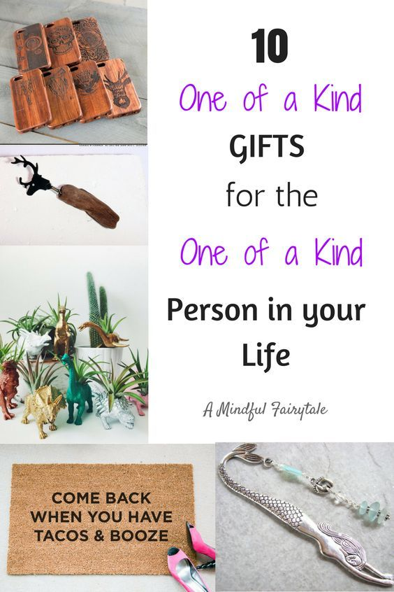 10 One of a Kind Gifts for the One of a Kind Person in Your Life - A Mindful Fairytale - http://www.amindfulfairytale.com/10-one-kind-gifts-one-kind-person-life/