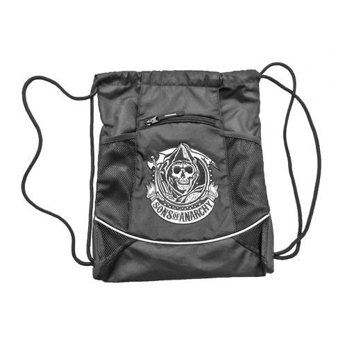 Sons of Anarchy Reaper Drawstring Bag - Calhoun Sportswear - Sons of Anarchy - Bags at Entertainment Earth