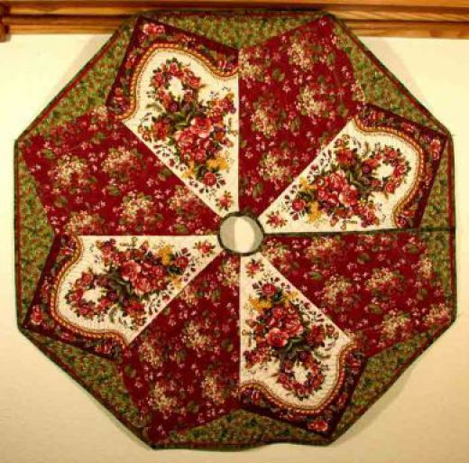 Quilted Christmas Tree Skirt Patterns: 93 Best Images About Quilts