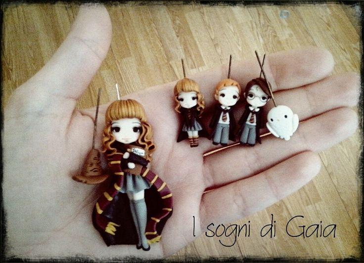Hermione, Ron & Harry by I sogni di Gaia