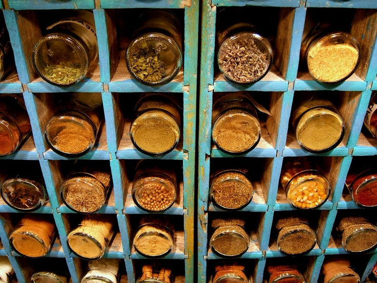 spice storage from recycled coke bottle crates via - Spice Storage