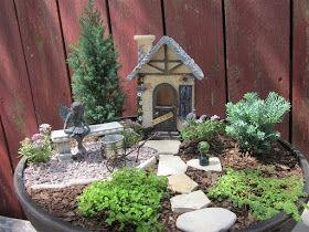 The Papercrete Potter: More Mini Gardens.....