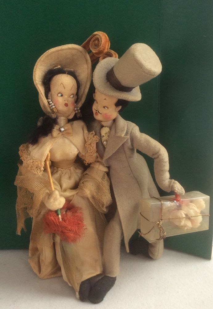 Nistis doll courting couple made in Spain vintage with tag in Dolls & Bears, Dolls, Other Dolls | eBay