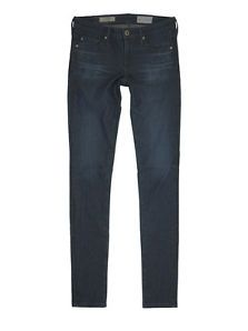 $188 NEW Adriano Goldschmied Knit Luxe Denim The Legging Super Skinny, Hinge 24