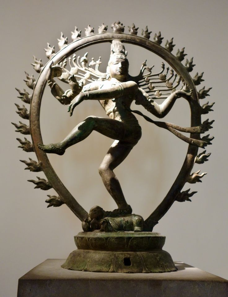 Siva Nataraja - señor de la danza. Tamil Nadu - Vellalagaram. Época cola. Siglo XI. Bronce. Museo Guimet.