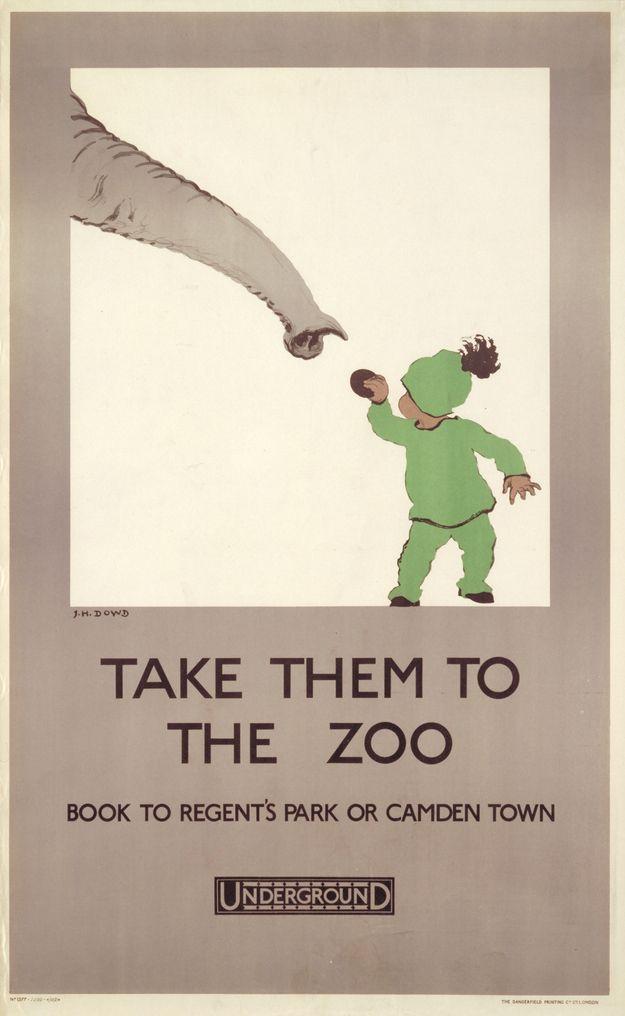 1924 u0027Take them to the zoou0027 London