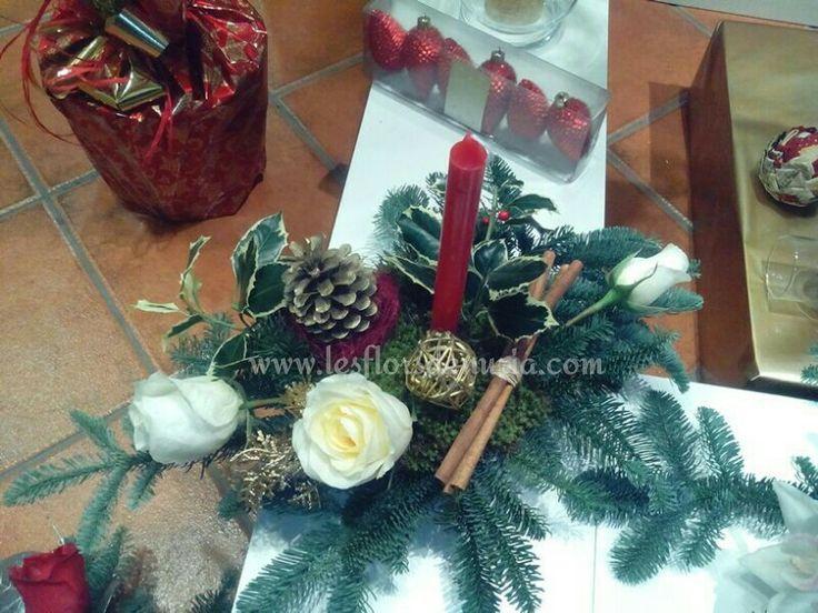 Decora la taula en Nadal