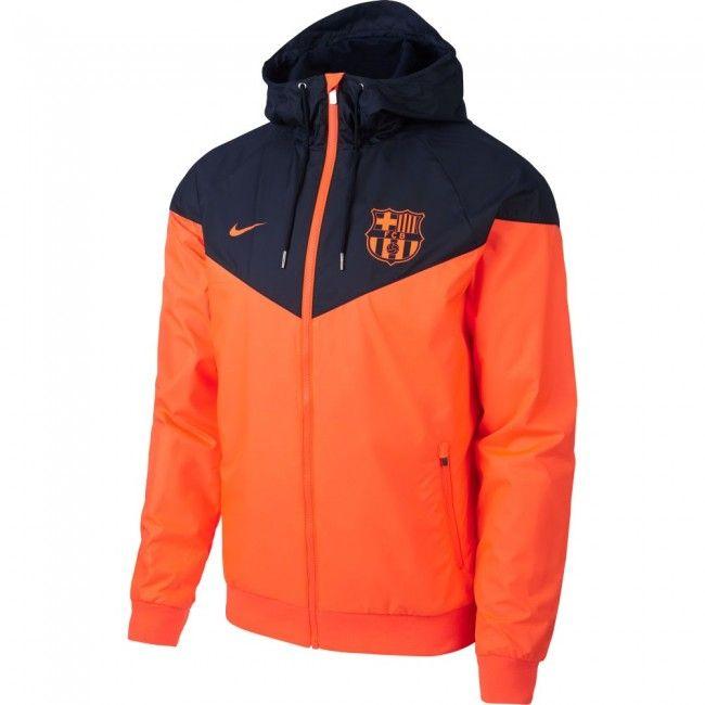 Chaqueta cortavientos del Barcelona 2018 - Naranja Azul Marino  jacket 0cb4d148129