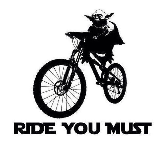 Try not. Do! Ride you must.