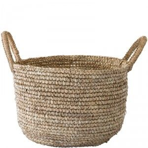 Round Basket with Handles - Large